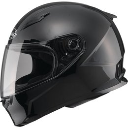 GMAX FF49 Solid Modular Snowmobile Helmet Black