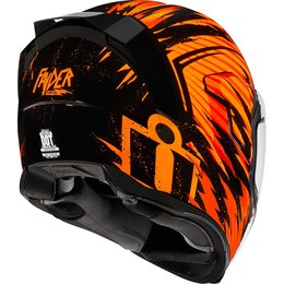 Icon Airflite Fayder Full Face Helmet Orange