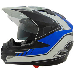 Vega Stealth Cross Tour Flow Dual Sport Helmet Black
