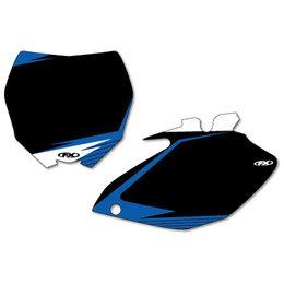 Black Factory Effex Graphic #plate Background For Yamaha Yz450f