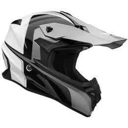 Vega VF1 VF-1 Stinger MX Motocross Offroad Riding Helmet With Visor Black