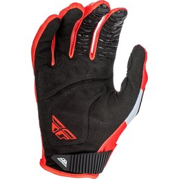 Fly Racing Mens Kinetic Shield Gloves Red