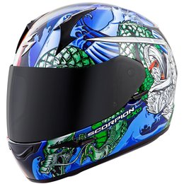 Scorpion EXO-R410 EXOR410 Bushido Full Face Helmet