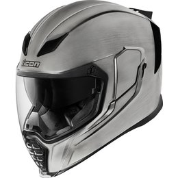 Icon Airflite Quicksilver Full Face Helmet Silver