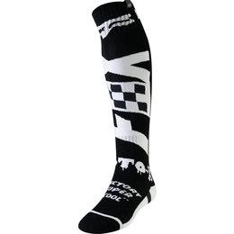 Fox Racing Mens FRI Thin Czar Socks Pair Black