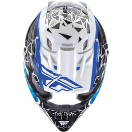 Fly Racing Youth Kinetic Crux Helmet White