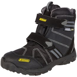 Klim Youth Boys Klimate Gore-Tex Slip-On Textile Snowmobile Boots Black