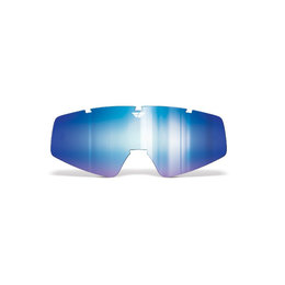 Blue Mirror, Smoke Fly Racing Repl Dual Pane Lens W O Pins F Focus Zone Snow Goggle 2015 Blu Mr Smk