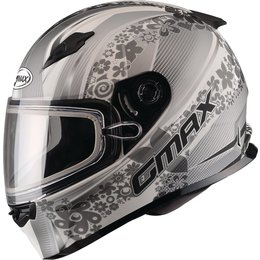 GMAX Womens FF49 Elegance Snowmobile Helmet Off-white