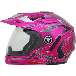 AFX Womens FX-55 FX55 Multi 7 In 1 Crossover Helmet Pink