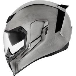 Icon Airflite Quicksilver Full Face Helmet Silver