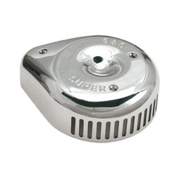 S&S Cycle Air Cleaner Cover Slasher Chrome For Harley-Davidson Big Twin 74-14