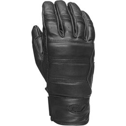 RSD Mens Ronin Leather Riding Gloves Black