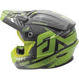 Answer Racing AR-1 AR1 MX Helmet Green