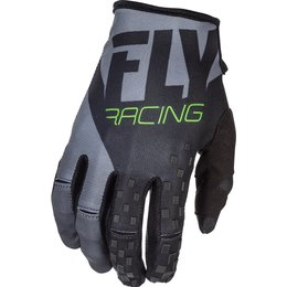 Fly Racing Youth Boys Kinetic Race Gloves Black