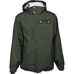 Charcoal Fly Racing Mens Phantom Hooded Jacket 2014