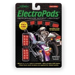 Black Street Fx 12v Electropods Brake Light Pods