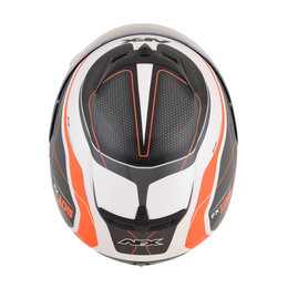 AFX FX-105 FX105 Thunderchief Full Face Helmet Orange