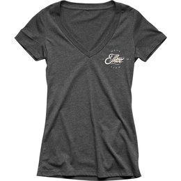 Thor Womens Runner V-Neck T-Shirt Grey