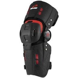 Black Evs Rs8 Knee Brace Right