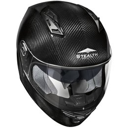 Vega Stealth F117 F-117 Torch Carbon Fiber Quick Release Full Face Helmet Black