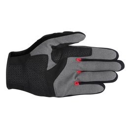 White, Black, Red Alpinestars Mens Spartan Textile Gloves 2014 White Black Red