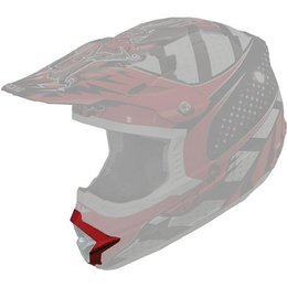 Red, Black, White Fly Racing Replacement Mouthpiece For Trophy Lite Helmet Red Black White