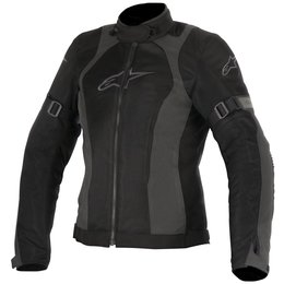 Alpinestars Womens Stella Amok Air Drystar Lined Armored Textile Jacket Black