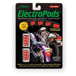 Chrome Street Fx 12v Electropods Brake Light Pods