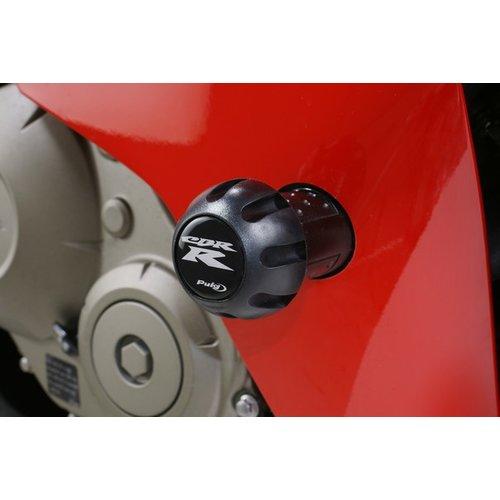 $102.95 PUIG Frame Saver/Crash Pad Black For Honda #179106