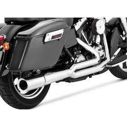 Vance & Hines Pro Pipe 2 Into 1 Full Exhaust For Harley FLD Dyna Switchback
