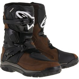 Alpinestars Mens Belize Drystar Lined Oiled Leather CE Riding Boots Brown