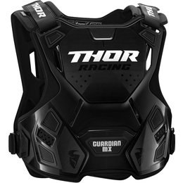 Thor Guardian MX Roost Guard Chest Protector Black