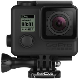 GoPro Blackout Housing Kit With Std/Sklt/Touch Backdoors For Hero3/+/4 Clear Blk Black