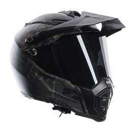 AGV AX-8 Dual Evo Grunge Helmet Black