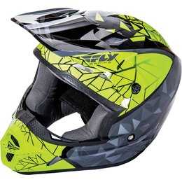 Fly Racing Youth Kinetic Crux Helmet Black