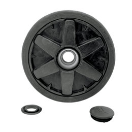 Casmo ATV Track System Replacement Wheel Injection Assembly 201mm 1016-00-6001 Black