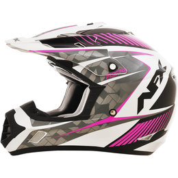 AFX Womens FX-17 FX17 Gloss Factor MX Motocross Helmet Pink