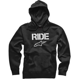 Alpinestars Mens Ride Pullover Hoody Black