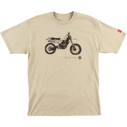 FMF Kurt Caselli Sandstorm Cotton T-Shirt Beige