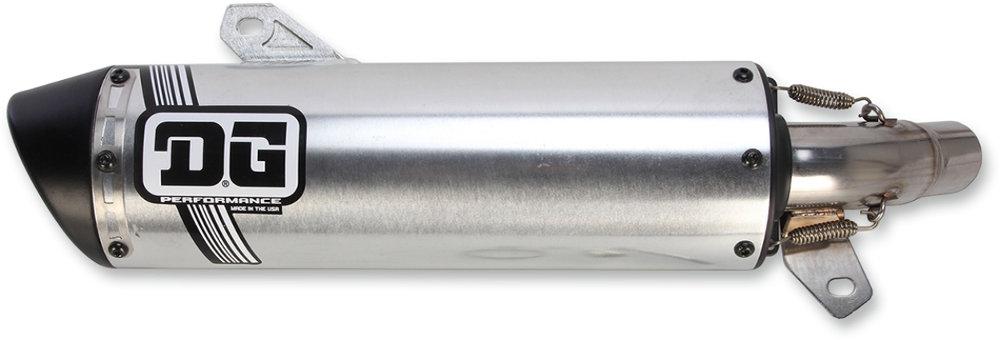 $299 95 DG Performance V2 Slip-On ATV Exhaust Honda #1072703