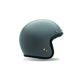 Primer Grey Bell Powersports Mens Custom 500 Open Face Helmet 2014