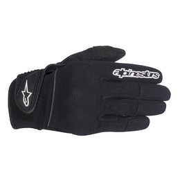 Black Alpinestars Womens Stella Spartan Textile Gloves 2014