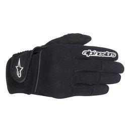 Black Alpinestars Womens Stella Spartan Textile Gloves 2014