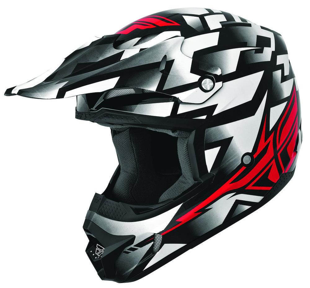 Full Face Cruiser Helmets >> $109.95 Fly Racing Mens Kinetic Block Out Helmet 2014 #189402