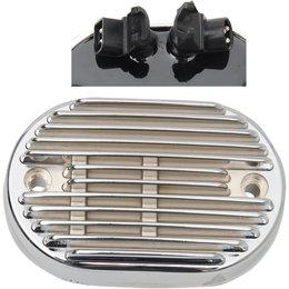 Drag Specialties Premium Voltage Regulator For Harley-Davidson Chrome 2112-1031 Metallic