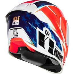 Icon Airframe Pro Max Flash Full Face Helmet Red