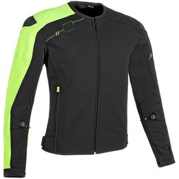 Speed & Strength Mens Light Speed Armored Textile Jacket Black