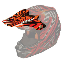 Orange Fly Racing Replacement Visor For F2 Carbon Snow Helmet
