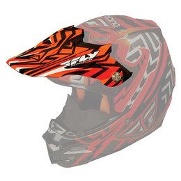 Orange Fly Racing Replacement Visor For F2 Carbon Snow Helmet
